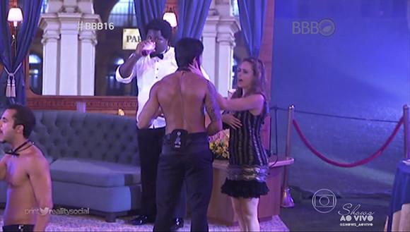 BBB 16 - Renan e Ana Paula