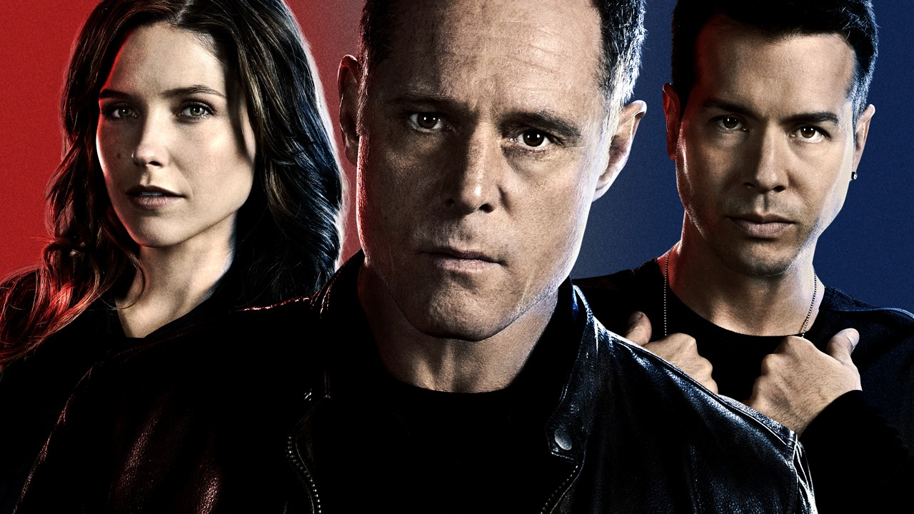 Sargento Voight e os detetives Erin e Antonio
