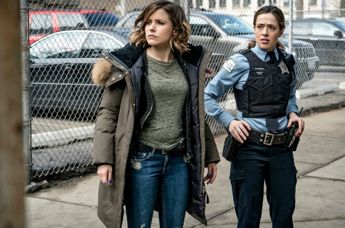 Detetive Erin Lindasay e oficial Kim Burgess