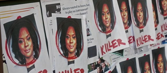 How To Get Away With Murder - 3x01 - Annalise Killer Flier