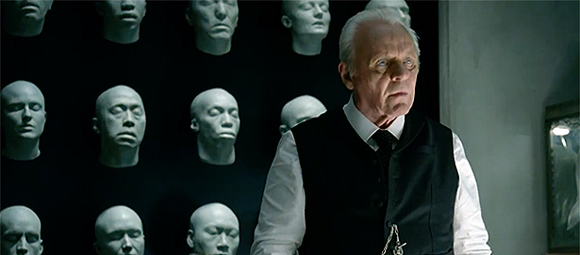 Anthony Hopkins - episódio piloto de Westworld