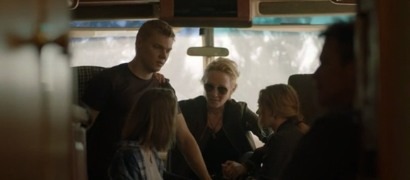 Levi Meaden, Julia Sarah Stone, Anne Heche, Taylor Hickson e James Tupper - Aftermath