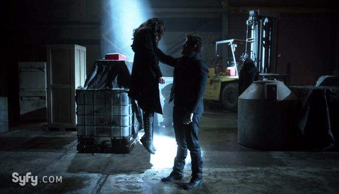Van Helsing 1x12 Dmitri captura Vanessa