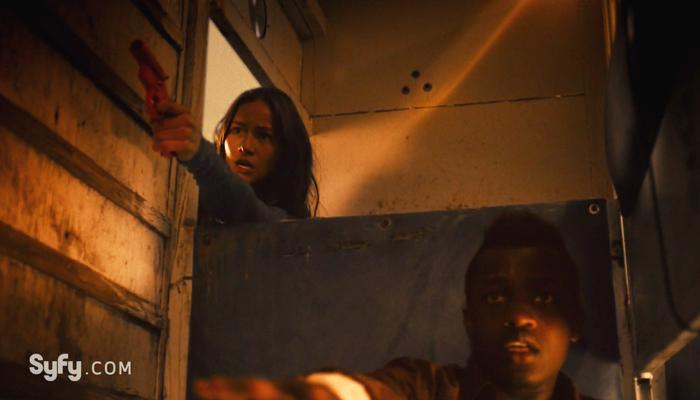 Van Helsing 1x12 Vanessa salva Mohamad