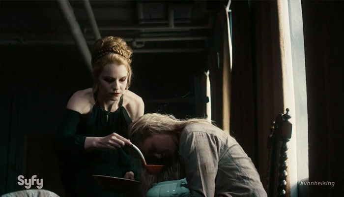 Van Helsing 1x13 Anastasia