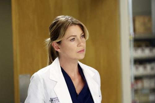 Ellen Pompeo em cena como Meredith
