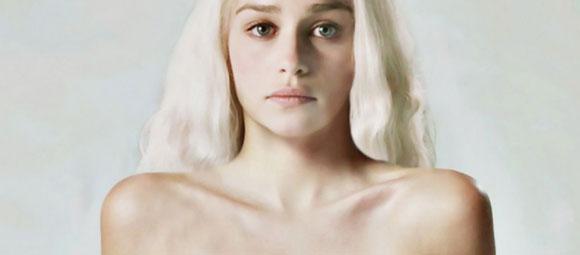 Não usei dublê, revela Emilia Clarke sobre nova cena de