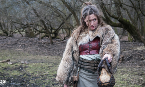Brida em no terceiro episódio de The Last Kingdom