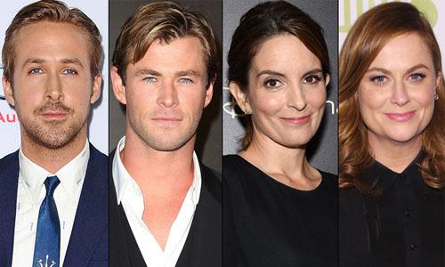 Gosling-Hemsworth-Fey-Poehler-SNL
