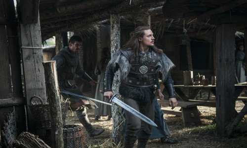 The Last Kingdom: Uhtred e Leofric em Episode 7