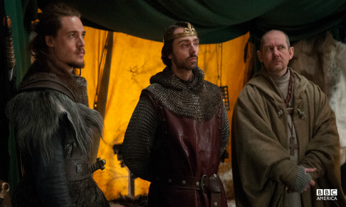 Uhtred, Alfredo & Beocca: The Last Kingdom, episode 4