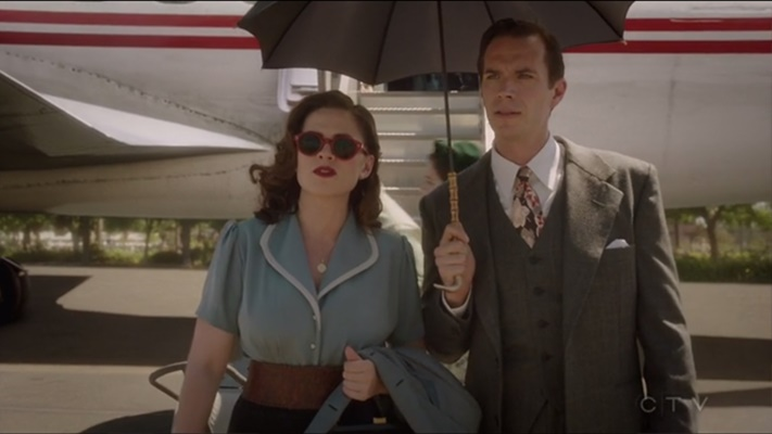 Peggy and Jarvis, Agent Carter season 2