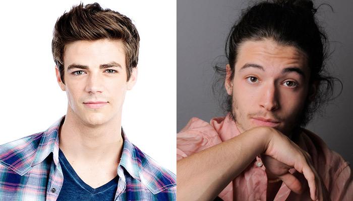 Grant Gustin e Ezra Miller