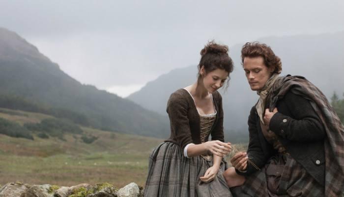 Jamie Fraser e Claire Beauchamp