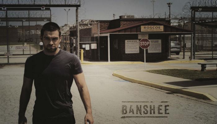 Banshee - Logotipo de divulgação.