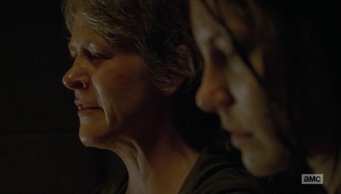 carol and maggie - twd 6x13