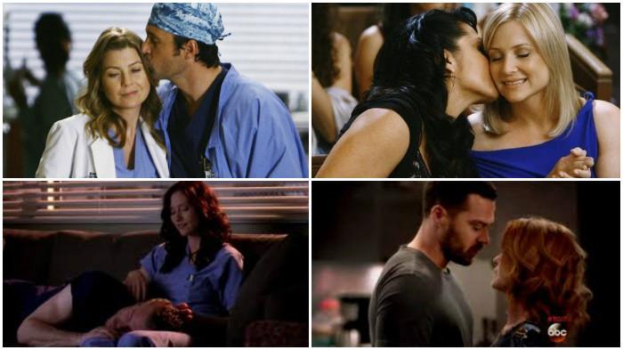 Grey's Anatomy Ships da série/casais