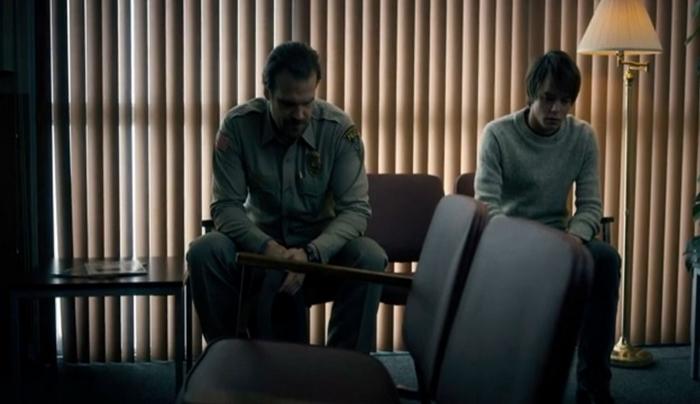 hooper and jonathan - stranger things 1x04