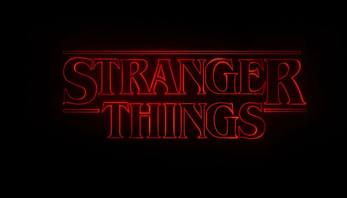 Stranger Things Banner.