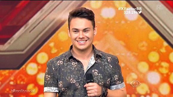 The X Factor Br - Estreia (Alessandro Maia)