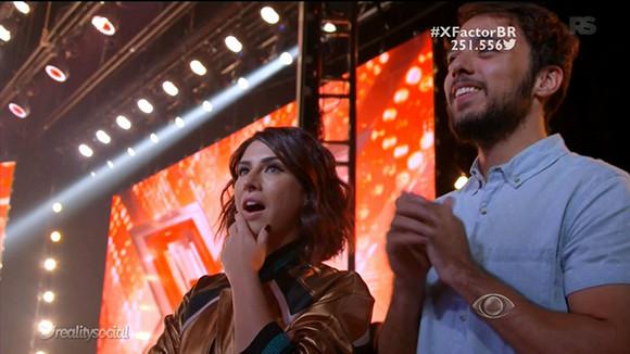 The X Factor Brasil - Estreia (Fe Paes Leme)
