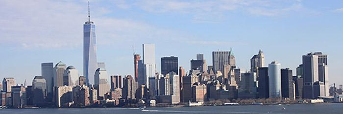 O edifício One World Trade Center, em Nova York.