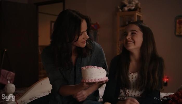 Van Helsing - Primeiras Impressões - Vanessa comemora o aniversário de sua filha Dylan