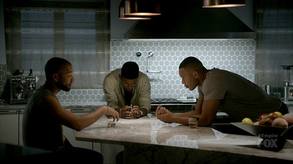 Empire 3x02 - Jamal, Andre e Hakeem