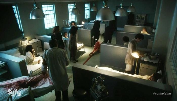 Van Helsing 1x08 arraste-me para o refeitório pois sou o prato principal