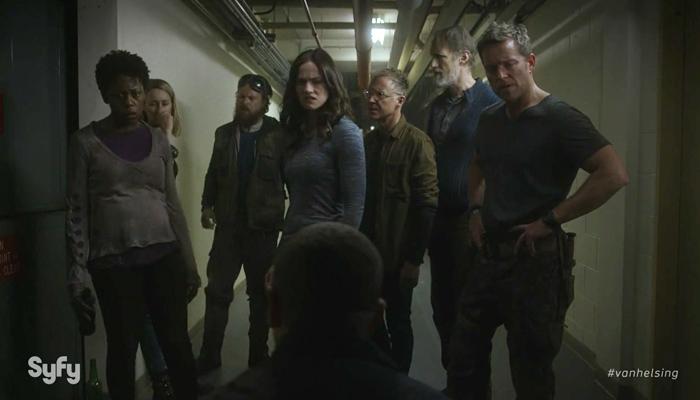 Van Helsing 1x08 John finalmente se ferra