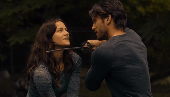 Van Helsing - 1x10 Theo treina com Vanessa