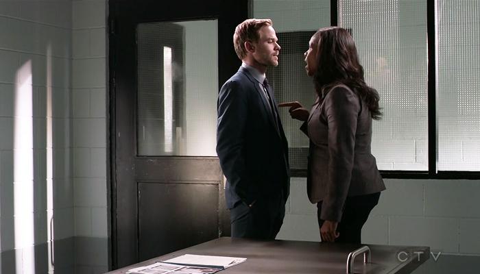 Conviction 1x08 Maxine confronta Sam por sua mentira