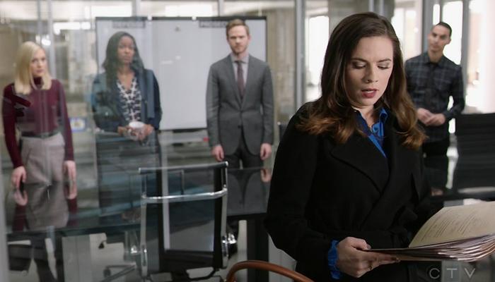Conviction 1x10 CIU