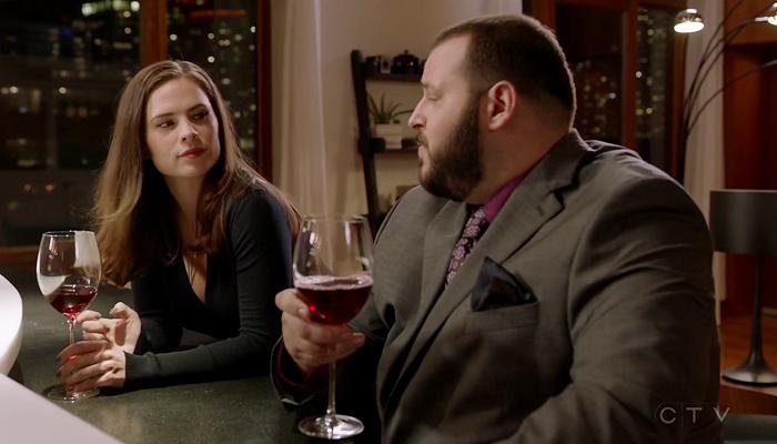 Conviction 1x10 Hayes e Jackson