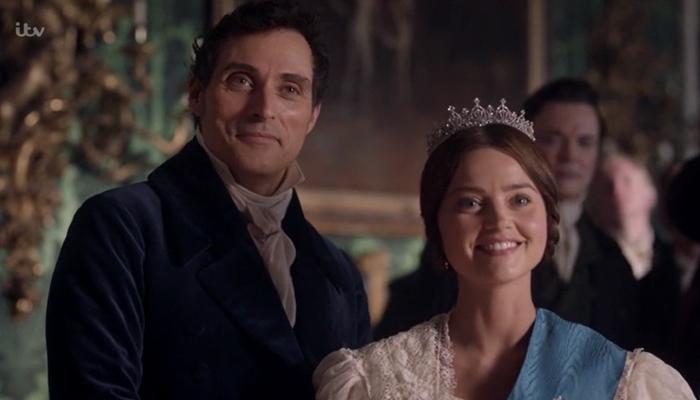 Lord Melbourne e Victoria
