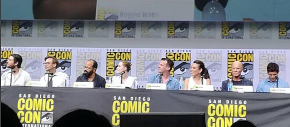 Painel de Westworld na Comic-Con