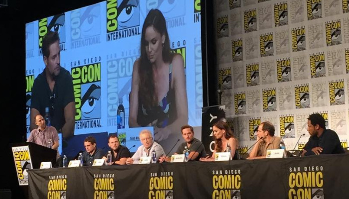 Painel Colony na SDCC